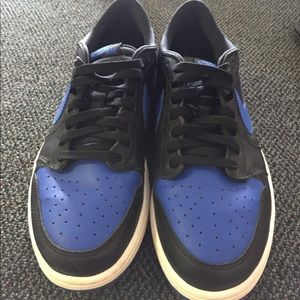 Size 12 Jordan 1 low royal